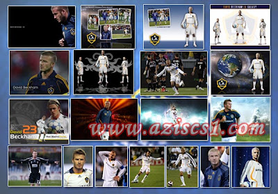 20 Wallpaper David Beckham Berkostum LA Galaxy