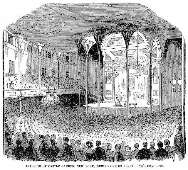 1851 Castle Garden Theater, Jenny Lind