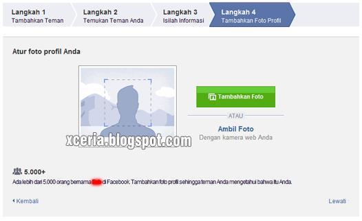 Cara Membuat Facebook - Foto Profil