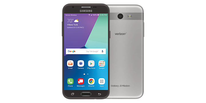 Samsung Galaxy J3 Mission for Verizon receives Android Oreo