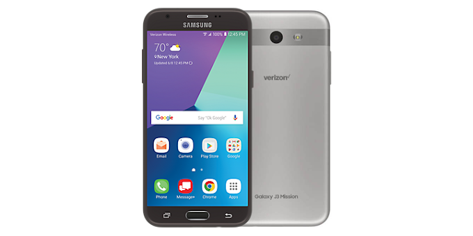 Samsung Galaxy J3 Mission for Verizon receives Android Oreo update