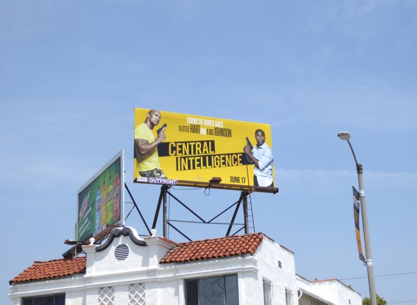 Central Intelligence billboard