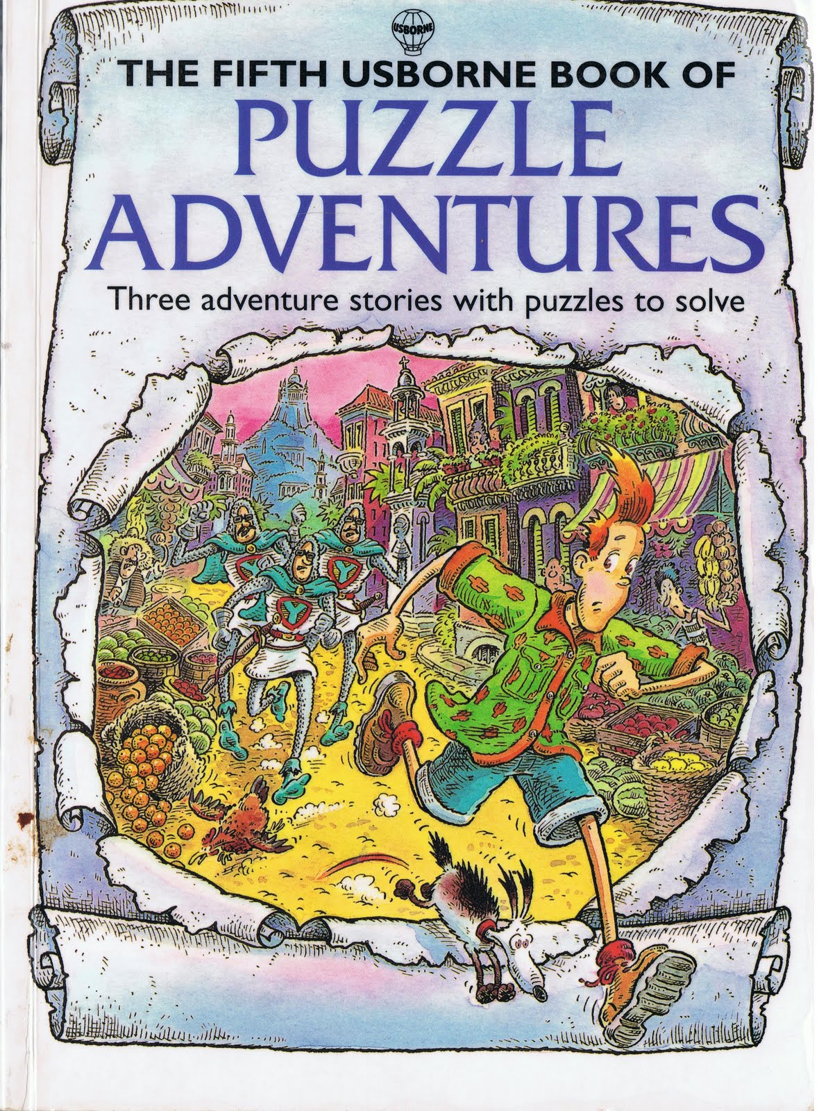 Little Library of Rescued Books: The Fifth Usborne Book of Puzzle Adventures by Martin Oliver
