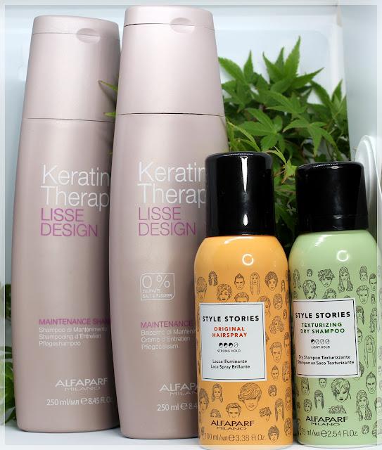 Efekt prostych włosów na dłużej? ALFAPARF MILANO - recenzja kosmetyków do włosów.