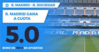 Paston Promoción Liga Santander Real Madrid vs Real Sociedad 10 febrero