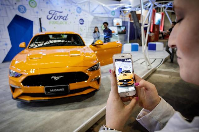 Ford mostra o Mustang V8 GT Premium na Campus Party