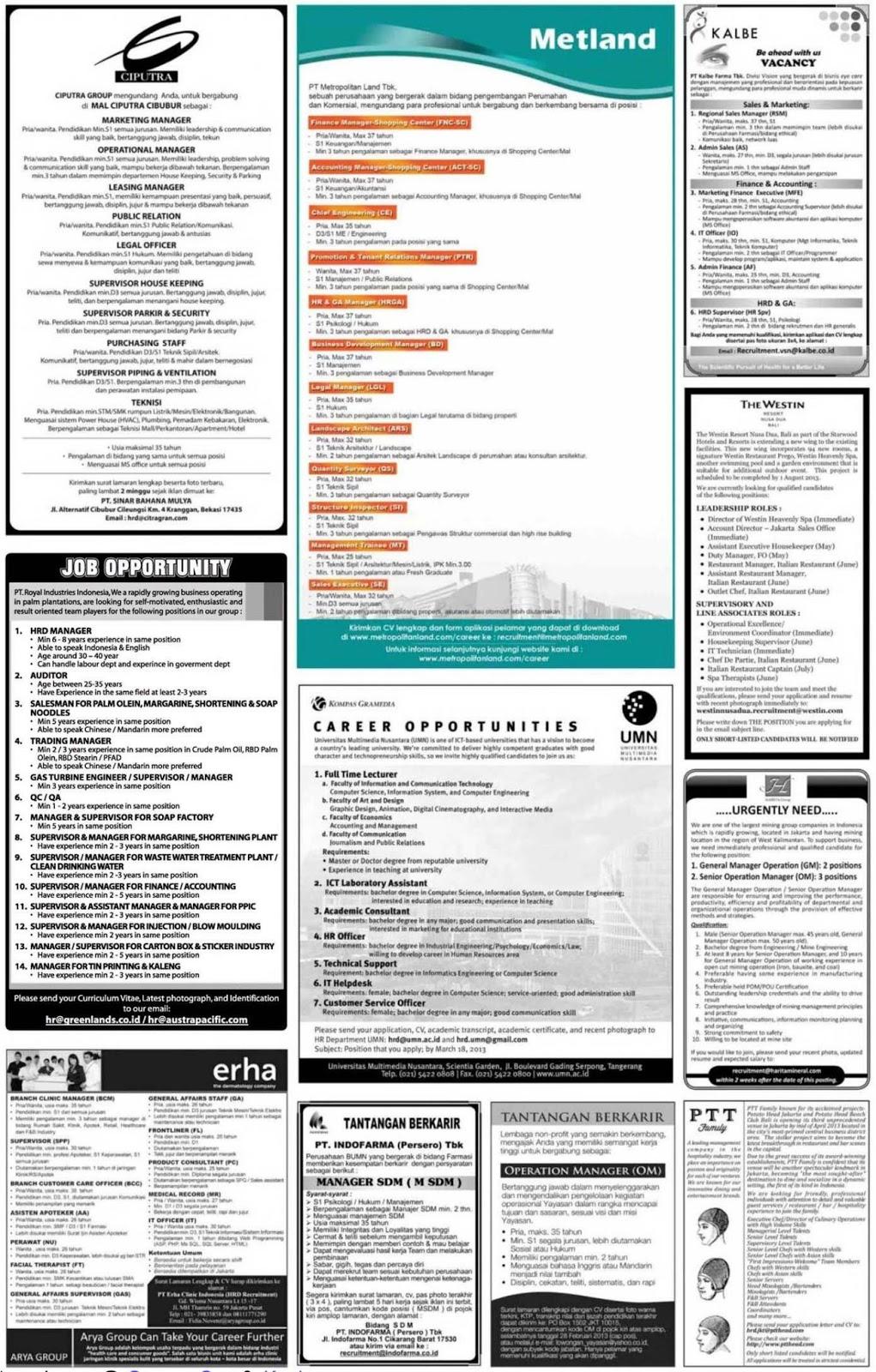 Lowongan Kerja Yogyakarta Februari 2013 Terbaru Portal Info Lowongan Kerja Terbaru Di Solo Raya Kerja Lowongan Kerja 2015 Lowongan Kerja Juni 2015 Lowongan Kerja
