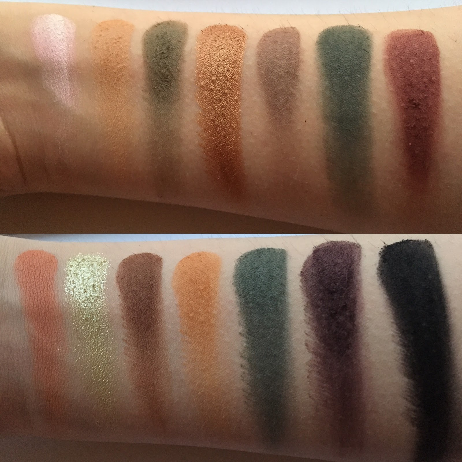 Makeup revolution division palette