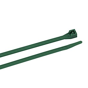Gardner Bender 46-308G Cable Tie, 8 Inch., 75 lb. Tensile Strength, Wire / Cord Management Industrial and Household Use, Nylon Zip Tie, 100 Pk., Green