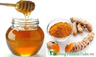 Bài thuốc hay chữa đau dạ dày từ nghệ, mật ong