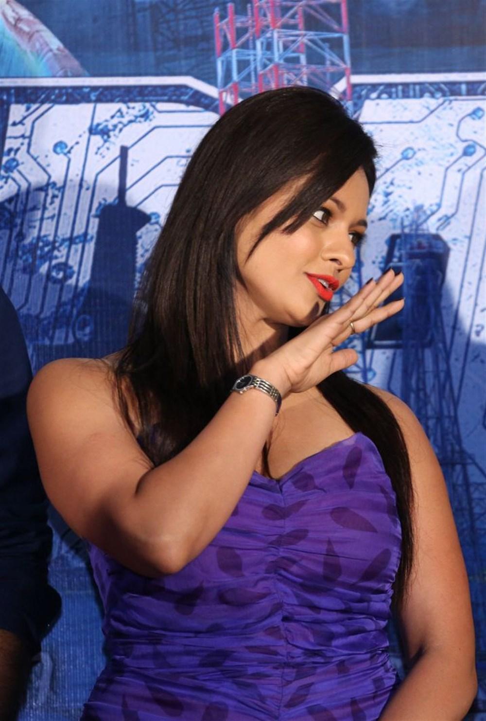 Pooja Kumar at PSV Garuda Vega Teaser Release Stills