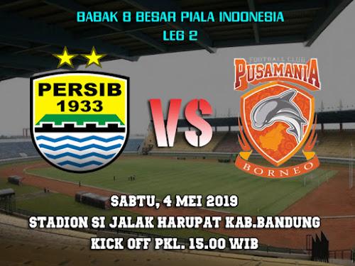 Persib VS Borneo FC 4 Mei 2019