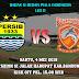 Leg 2 Piala Indonesia Persib VS Borneo FC Digelar di SJH Sabtu, 4 Mei 2019