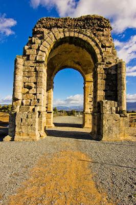 Arco de Cáparra - Ciudad Romana de Cáparra