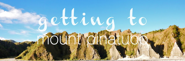 Getting to Mount Pinatubo