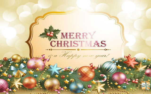 Happy HD Christmas Wallpaper