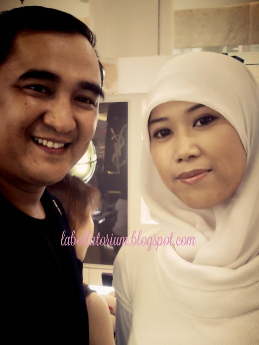 Beauty Event - Romancing with YSL (Yves Saint Laurent) Gusnaldi and Me wefie