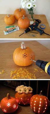 decorar calabazas de halloween