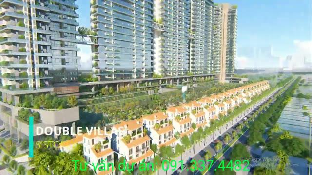 Biệt thự trên không Sunshine Crystal River dự án Sky Villas Ciputra, Phú Thượng, Tây Hồ