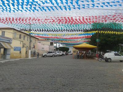 Preparativos para o São João de Mairi 2016