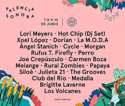 Palencia Sonora 2018