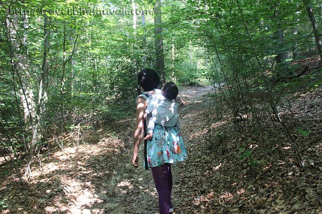 Hiking with kids in Spa, Wallonia, Belgium