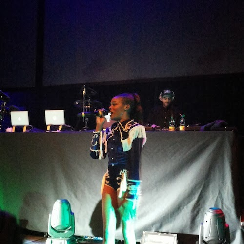 Azealia Banks at LuisaViaRoma Firenze4ever Ethnomorphic party 2014