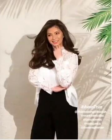 Angel Locsin Looks Fresh And Stunning In Her Newest Beauty Campaign Shoot