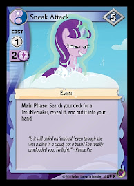My Little Pony Sneak Attack Marks in Time CCG Card