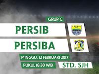 Persib vs Persiba, Piala Presiden 2017 (12 Februari)