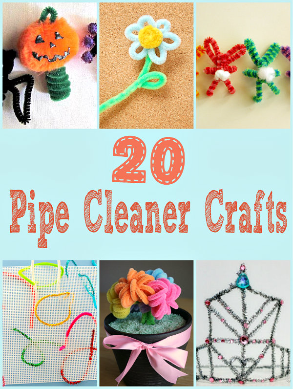 Christmas Craft Projects With Pipe Cleaners