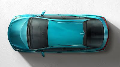 2017 Toyota Prius Prime top view image
