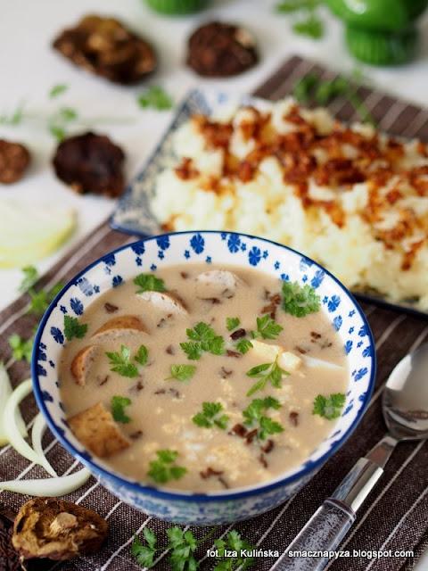 zur grzybowy, zurek z grzybami, zalewajka grzybowa, zakwas na zur, grzyby, wielkanoc, zupy polskie, obiad