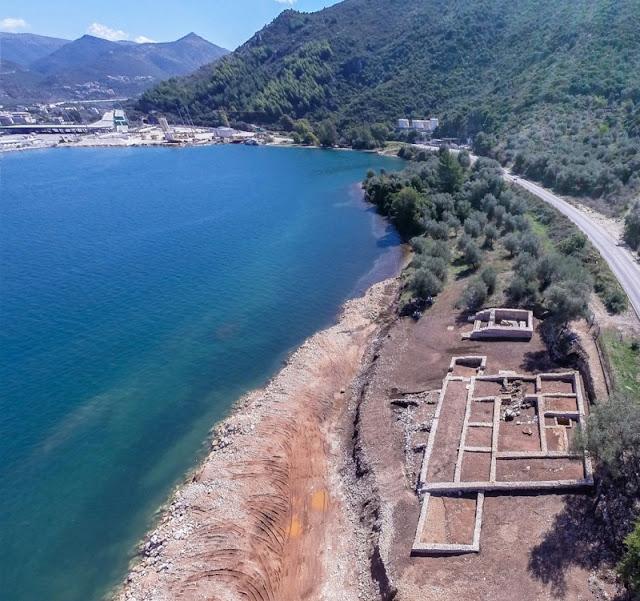 Η Ρωμαϊκή έπαυλη στο Λαδοχώρι Ηγουμενίτσας