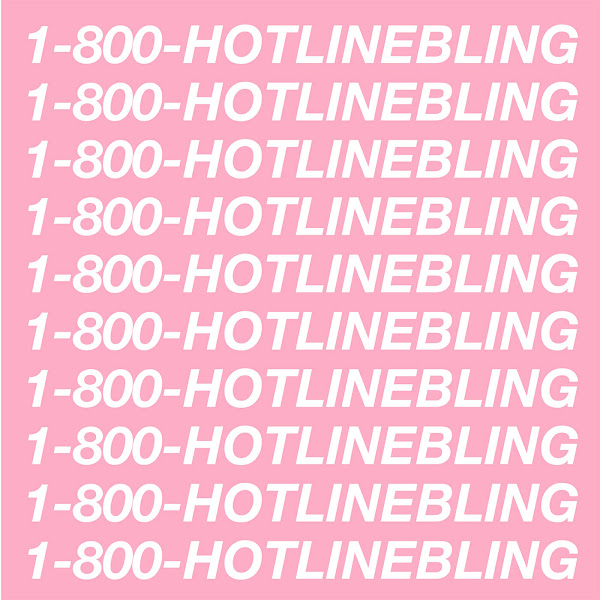 Drake - Hotline Bling - Single Cover