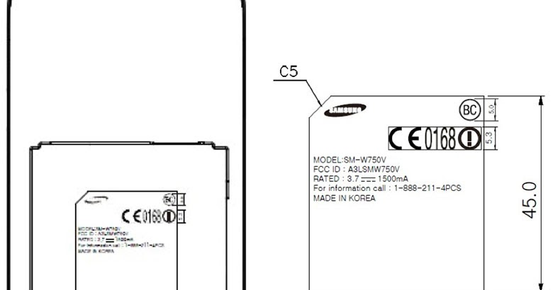 Verizon Samsung Huron Windows Phone passes through FCC