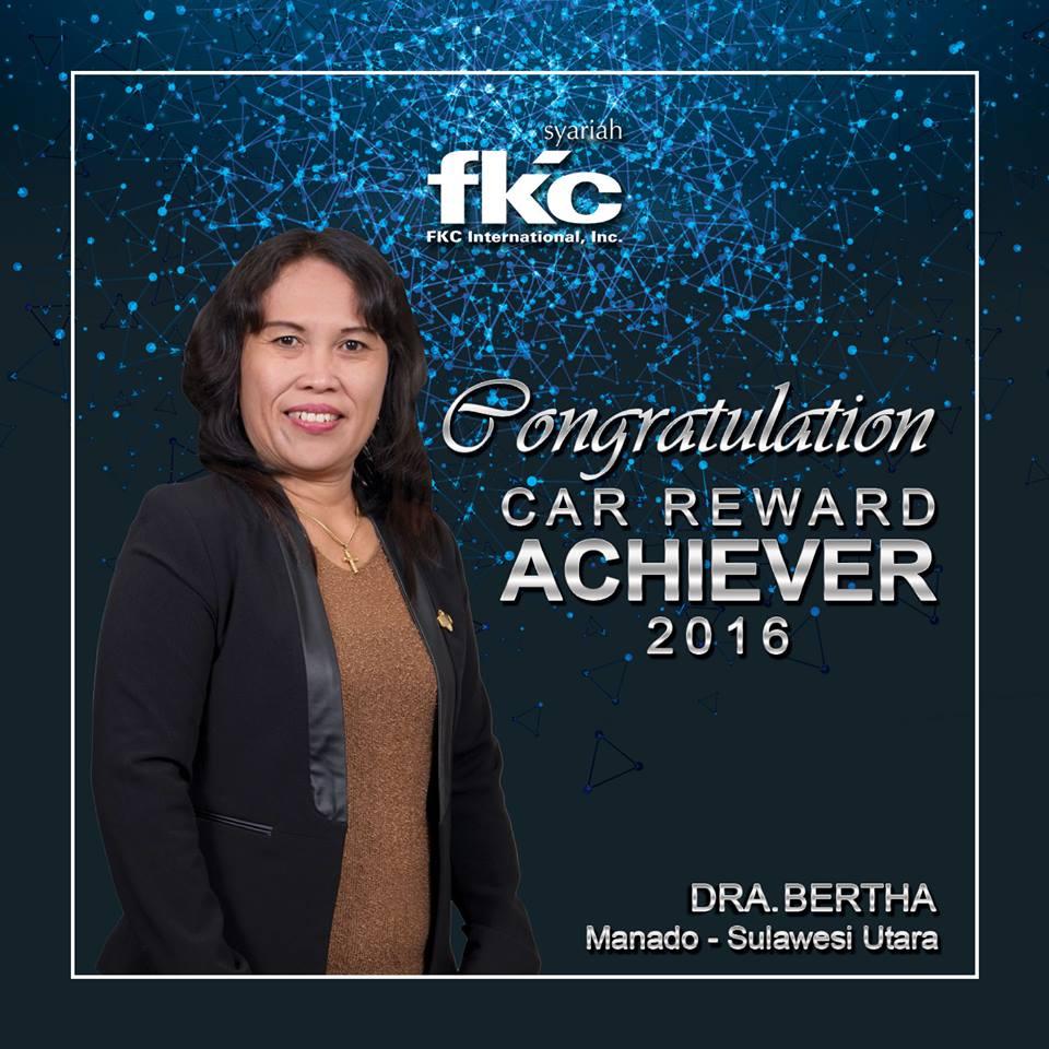 Bisnis Fkc Syariah - Reward DRA. Bertha, M.PD