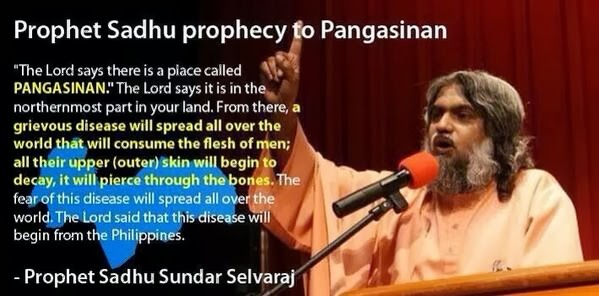Mysterious disease in Pangasinan coincides with Sadhu Sundar Selvaraj prophecy