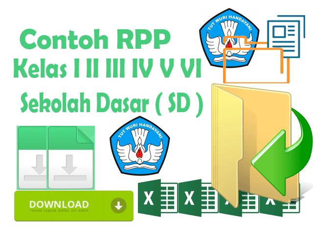Contoh RPP KTSP Berkarakter Untuk SD Kelas I II III IV V VI