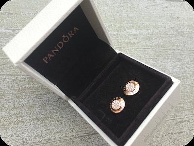 pandora rose gold jewellery
