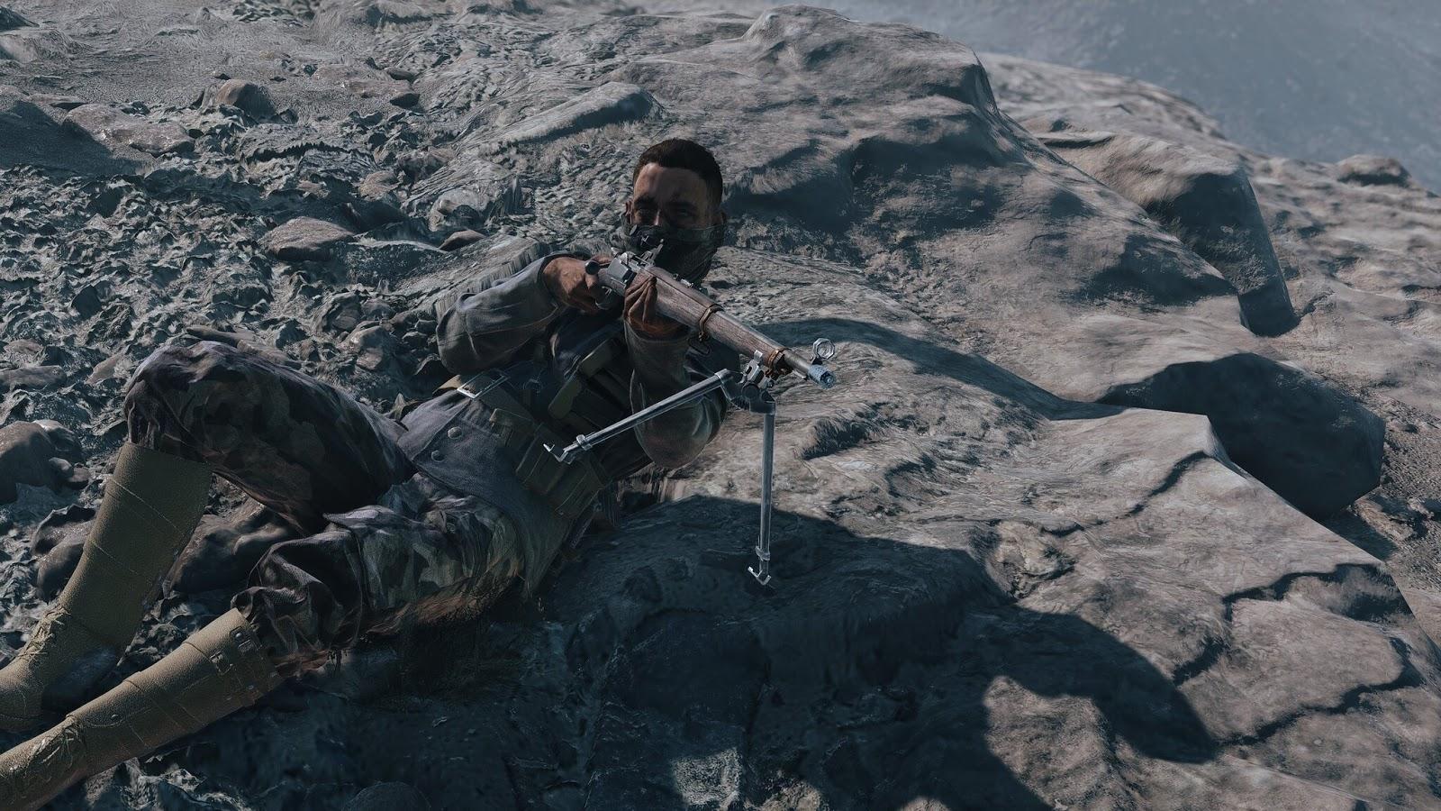 Battlefield V: Agora você pode usar o Commo Rose novamente enquanto estiver caído - Img: Chris177uk