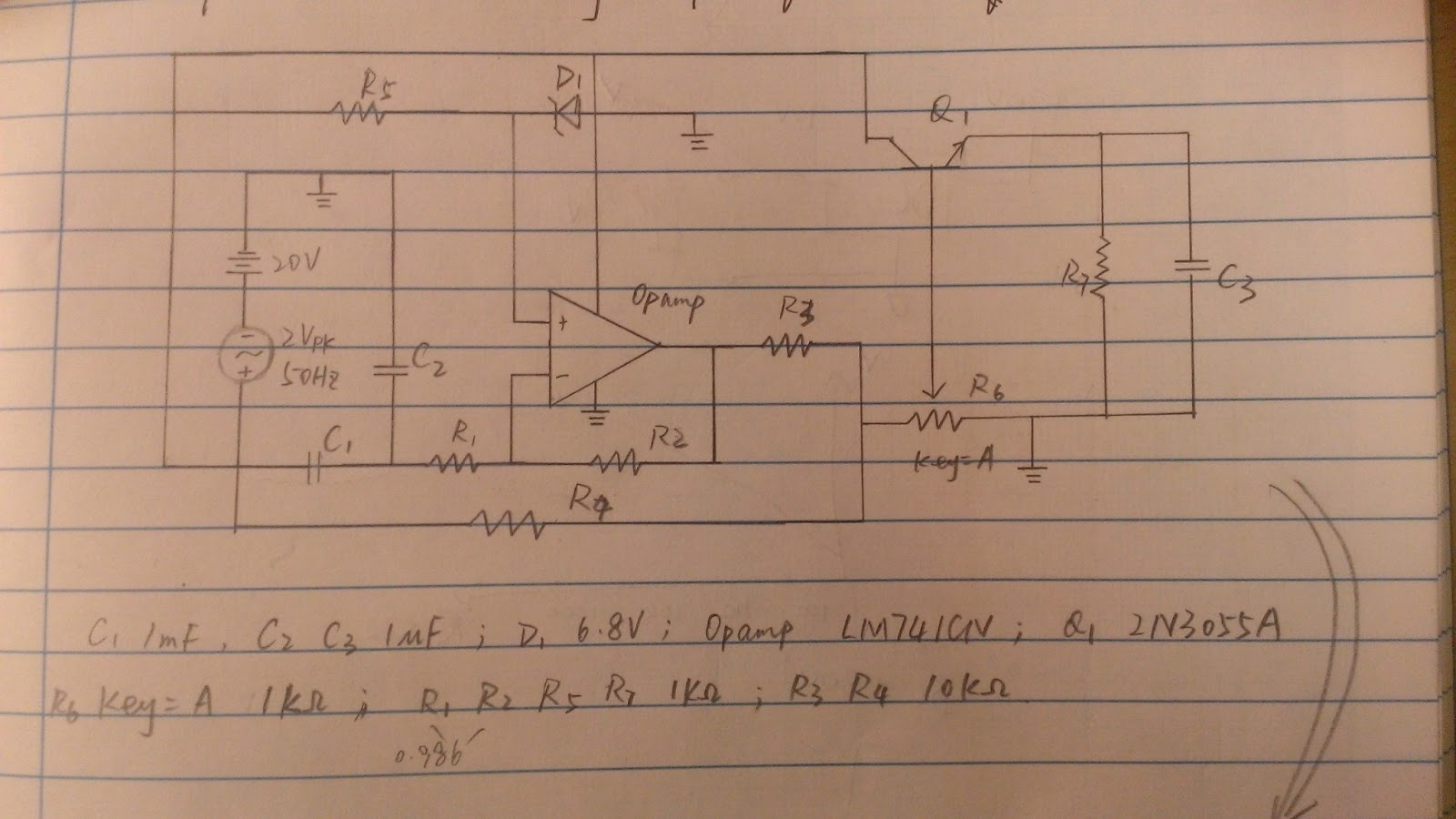 Inverting Amplifier Circuit Diagram Using Bootstrap Circuit Is Shown