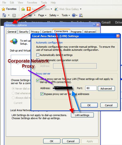 Test proxy vb net