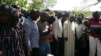 Mike Sonko's Bakari Tsuma laid to rest in Mkongani photo