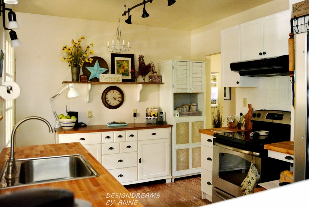 Kitchen Of The Week A Diy Ikea Country Kitchen For Two: A Stroll Thru Life: 229th Inspire Me Tuesday
