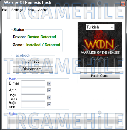 Warrior Of Nemesis Hack Tool 2013 Download
