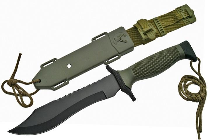 couteau militaire couteaux de survie de qualit. Black Bedroom Furniture Sets. Home Design Ideas