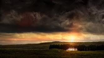 Hot Landscape from Glencoe, United Kingdom