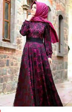 Contoh model baju batik wanita