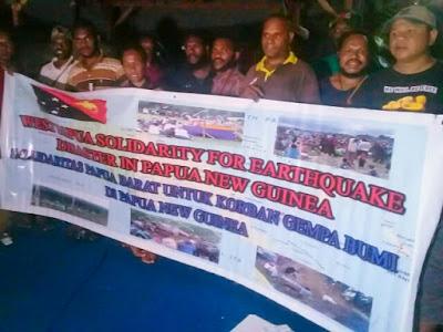 Pengalangan Dana Korban Gempa Bumi di PNG Terus Dilakukan